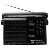 Rádio Portátil AM/FM 3 Faixas RM-PU 32AC Motobras