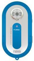 Rádio Portátil AM/FM  Azul NR720 NAXA - Opeco