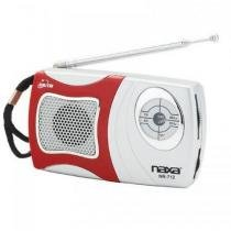 Rádio portátil AM/FM com alto-falante integrado NR712 Naxa -