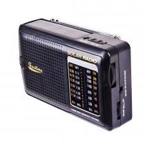 Rádio Portátil Am/Fm com Funcionamento Solar SIG1310 - Facilima - Mormaii