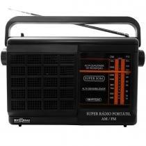 Rádio Portátil AM/FM Dunga Gabinete Grande RM PFT 22AC - MotoBras - Motobras