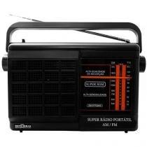 Rádio Portátil AM/FM RM-PFT 22AC Motobras