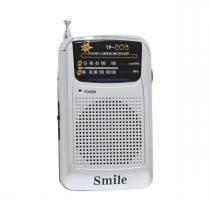 Rádio Portátil Am/FM Smile TP203 - Melodia