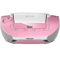 Rádio Portátil Boombox Soundmachine Az1837p/78 Philips -
