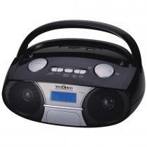 Rádio Portátil Boombox USB/SD Card/Auxiliar RBM PFS 11AC - MotoBras - Motobras