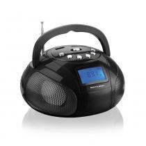Rádio portátil com entradas usb e auxiliar slot para cartão sd - SP145 - Multilaser -