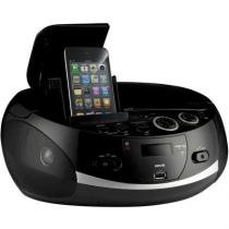Rádio Portátil Docking Station Cd Mp3 Idock Usb Bivolt Nks -