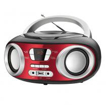 Radio portatil fm mondial eletronic bx-17 mp3 player entrada usb vermelho - bivolt ref.: 5360-01 -
