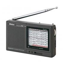 Rádio Portátil FM/MW/SW LED com Base de apoio PH60 - Philco - Bivolt (Manual) - Philco