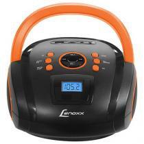 Rádio Portátil Lenoxx FM 5W Display Digital - BD 108 Entrada USB Entrada para Cartão