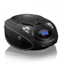 Rádio Portátil Mini Boombox 20W Preto SP178 - Multilaser - Multilaser