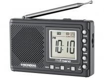 Rádio Portátil Mondial AM/FM Digital - Multi Band II RP-04