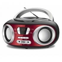 Rádio Portátil Mondial Boom Box NBX17 Entrada USB Auxiliar e para Fone de Ouvidos  6W -