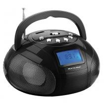 Radio Portatil Multilaser SP145 Boom BOX 10 WATTS USB / SD / FM -