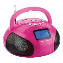 Radio portatil multilaser sp146 boom box 10 watts usb / sd / fm - Multilaser
