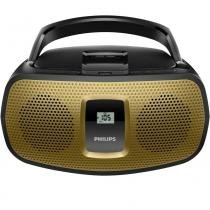 Rádio Portátil Philips AZ392X/78 com Entrada USB/Áudio MP3/CD/DVD/FM -