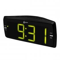 Rádio Relógio AM/Fm/Auxiliar/Soneca/Despertador Bivolt RR736 - Lenoxx -