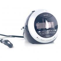 Rádio-Relógio AM/FM Digital c/ Projetor de Horas COBY CRA79BR - Coby