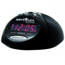 Rádio Relógio Britânia BS68 - Britânia