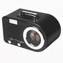 Rádio Relógio Classic Columbia Preto 32.861 Classic -