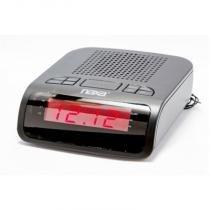 Rádio- relógio digital  AM/FM com 2 alarmes preta - NRC-174 - Naxa - Naxa