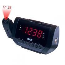 Rádio Relógio Digital Naxa Preto NRC-167 - Naxa