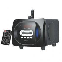Rádio Relógio FM Com Função Alarme Com Soneca - Dotcell