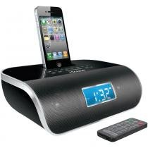 Rádio-Relógio FM para iPhone e iPod Dock Station DreamTime Pro 1669 - i.Sound - iSound