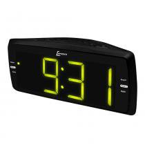 Radio relogio lenoxx rr736 am fm auxiliar  soneca despertador bivolt -