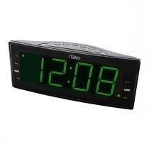 Rádio Relógio NAXA mod NRC-166 - NAXA