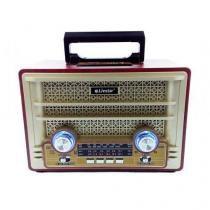 Radio Retro Portátil Recarregável Bluetooth USB estilo Vintage Clássico REF:0125 - Livstar