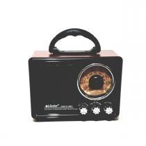 Radio Retro Portátil Recarregável Bluetooth USB estilo Vintage Clássico REF:0265 - Livstar