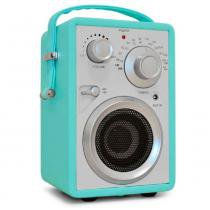 Rádio Speaker Nostalgia Azul - Versare Anos Dourados