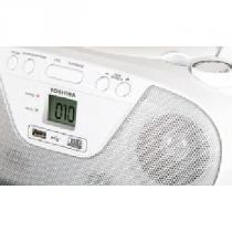 Radio toshiba 2 watts rms am/fm cd mp3 usb - tr 8003 - Semp toshiba