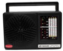 Rádio Vintage Retrô Portátil Companheiro 6 Faixas - CRP-61 -