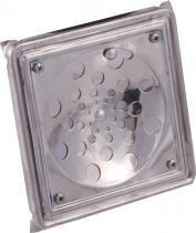 Ralo quadrado rotativo com caixa 10 x 10 cm en - Met.prinox