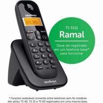 Ramal Para Telefone Fixo Sem Fio Intelbras Ts3111 -