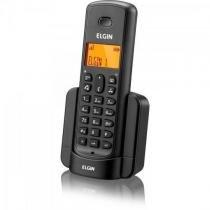 Ramal para Telefone sem Fio com ID TSF-8000R Preto ELGIN -