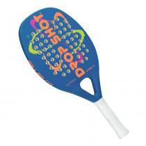 Raquete de Beach Tennis Drop Shot Astral 50cm Azul - Drop Shot