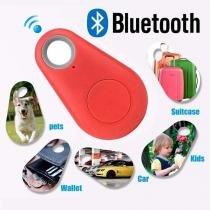 Rastreador Localizador Itag Bluetooth Antiperda Para Celular Chave Mala Carteira Pets Cor Vermelho (itag-vermelho) - Abm