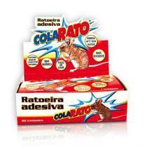 Ratoeira Adesiva Cola Rato - CX. 20 UNIDS American Pets
