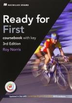 Ready for first cb with key - 3rd ed - Macmillan