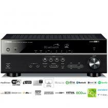 Receiver Yamaha RX-V483 5.1ch Bluetooth WiFi AirPlay 4K UltraHD 3D Zona B -