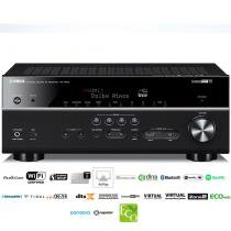 Receiver Yamaha RX-V683 7.2ch Bluetooth WiFi AirPlay 4K DolbyAtmos DTS:X Zona 2 -