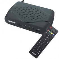 Receptor Conversor Tv Digital Full Hd Função Gravador Usb Hdmi Rca Amvox ACD 311 Bivolt -