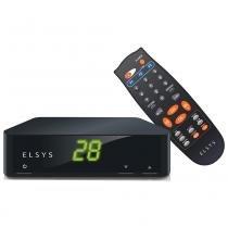 Receptor de TV Analógico Petit ETRS39 Preto - Elsys - Elsys