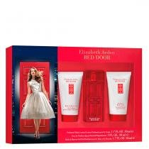 Red Door Elizabeth Arden - Feminino - Eau de Toilette - Perfume + Loção Corporal + Gel de Banho -