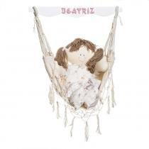 Rede Boneca Quarto Bebê Infantil Menina - Potinho de mel