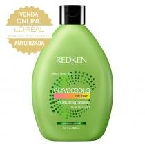Redken Curvaceous Moisturizing Cleanser - Shampoo Low Foam - 300ml - Redken
