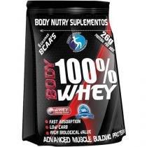 Refil Body 100% Whey Protein 900g Chocolate - Body Nutry